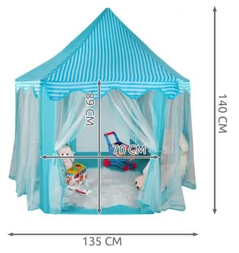 Wymiary - Namiot Niebieski
